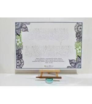 D.I.Y Doa Calligraphy Set
