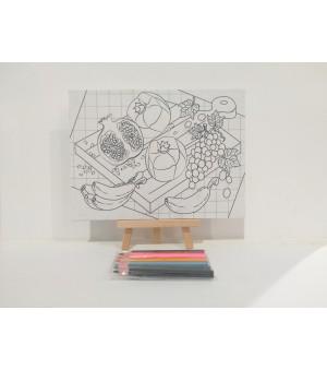D.I.Y Doodle Set Delima Anggur