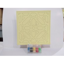 D.I.Y Sand Art Geometric