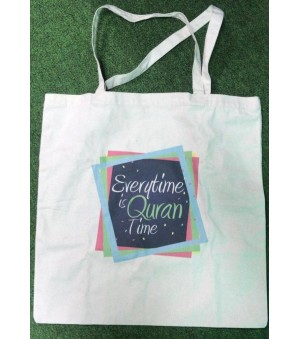 Bag Canvas - Everytime is Quran Time