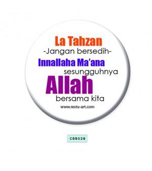 Button Badge - La Tahzan