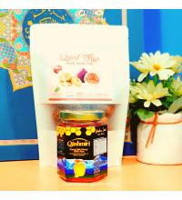 Madu Qashmiri: Forest Sidr Honey 100% Pure (230g) dan Buah Tin Original daripada Palestin