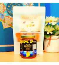 Madu Qashmiri: Forest Sidr Honey 100% Pure (230g) dan Buah Apricot Original daripada Palestin
