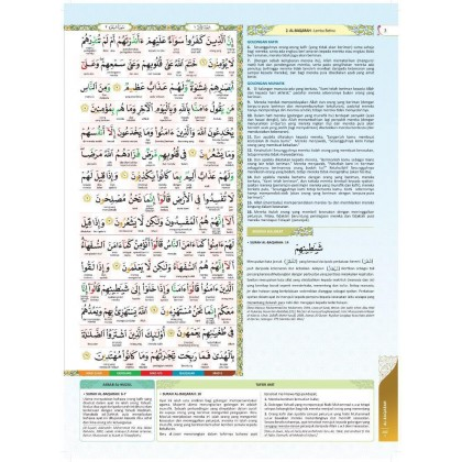 Al-Quran Al-Karim Mushaf Mufiq (Small) Gold