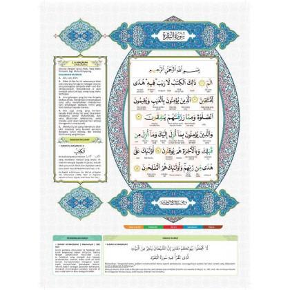 Al-Quran Al-Karim Mushaf Mufiq (Large) Blue