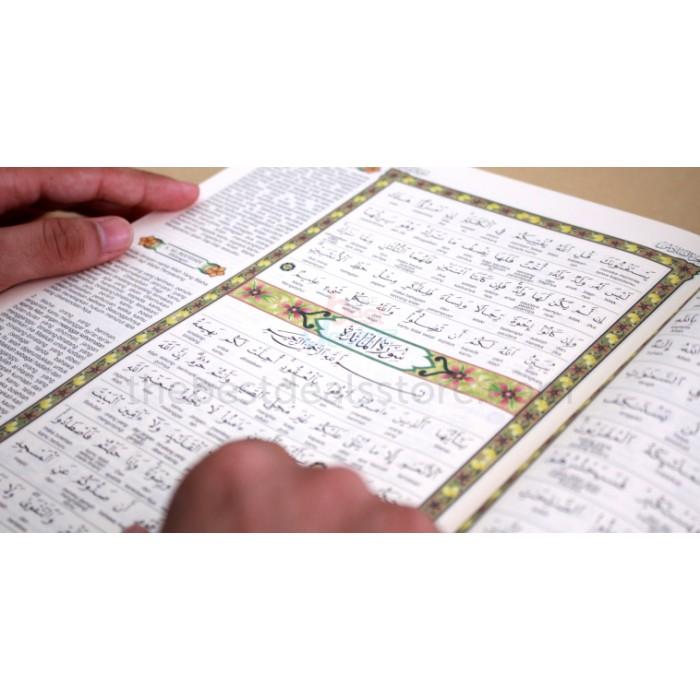 Al-Quran 30 Juzuk dan Terjemahan Lafziyyah Bahasa Melayu (PERKATA)