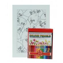 D.I.Y Colouring Kit -  Floral