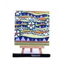 D.I.Y Doodle Art Magnet - Batik 2