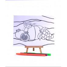 D.I.Y Doodle Art Canvas - Rehlah Nabawiyah 1