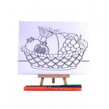 D.I.Y Doodle Art Canvas - Rehlah Nabawiyah 2