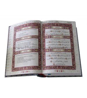 Al-Quran Mushaf Malaysia with English Translation (Size A5 & Blue Green)