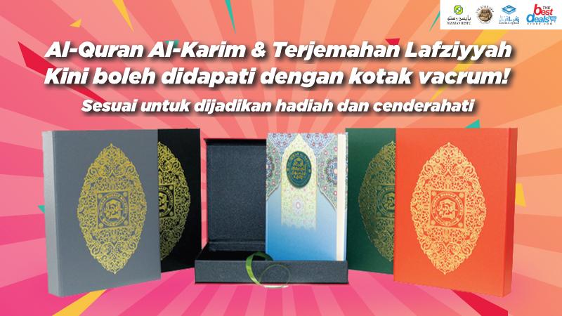 Kotak Vakrum Al-Quran Saiz A4